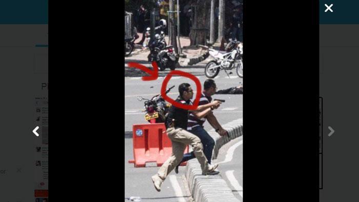 Polisi fashionable di balik serangan bom Sarinah menjadi viral