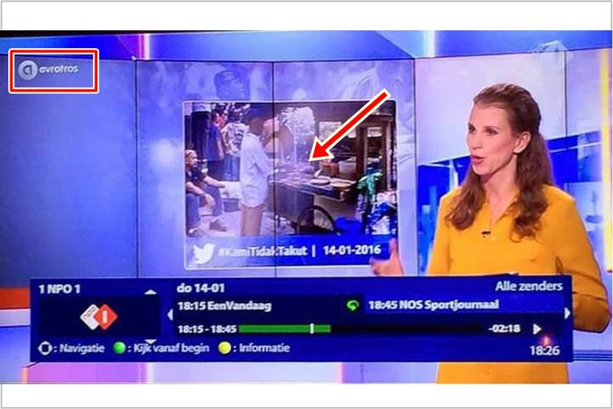 Pak Jamal tukang sate di TKP Bom Sarinah bikin media TV Belanda kagum!