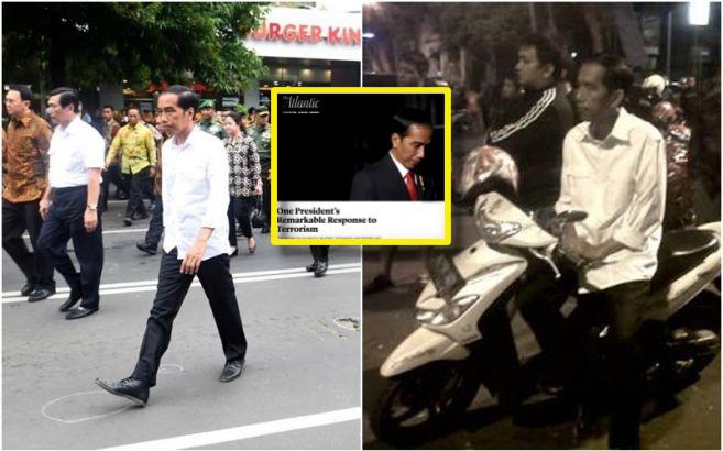 Dunia puji respons Jokowi lebih tepat dibanding Prancis