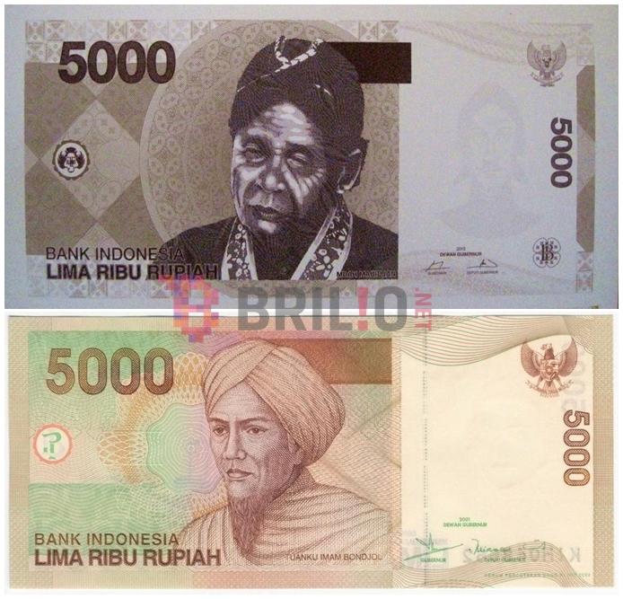 Apa jadinya jika desain mata uang Rp 5.000 diganti Mbah Maridjan?