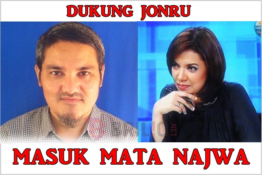 Jago kritik di medsos, netizen minta Jonru 'diadili' di Mata Najwa