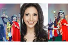 Indira Sudiro juara Putri Indonesia pertama, masih tetap cantik!