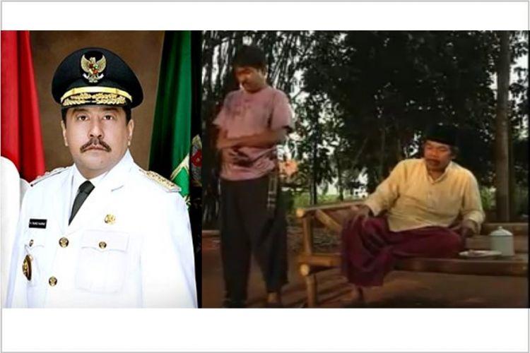 Ramalan Benyamin kelak Si Doel jadi gubernur kini memang jadi nyata!
