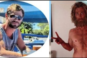 Superhero sejati, Chris Hemsworth kembali kekar hanya dalam sebulan