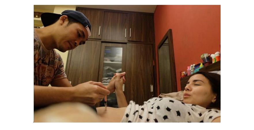 11 Foto perjuangan Tya Ariestya demi miliki bayi kembar, semangat ya!