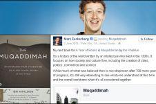 Inilah alasan Zuckerberg baca The Muqaddimah, buku karya Ibnu Khaldun