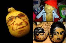 15 Kreasi wajah unik ini ternyata terbuat dari kentang, wow amazing!