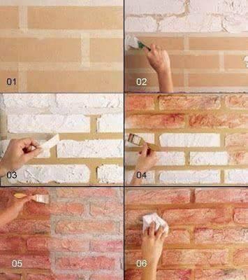 17 Trik Simpel Menghasilkan Cat Unik Pada Dinding Bisa Kamu Coba