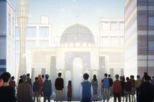 Kelompok muslim di Jepang ini pakai anime untuk bangun masjid
