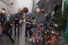 Di Jawa Sedekah Bumi, di Spanyol begini cara warga rayakan panen