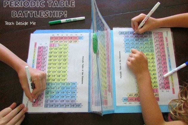 Cara kreatif, ajarkan tabel periodik dengan permainan kapal perang