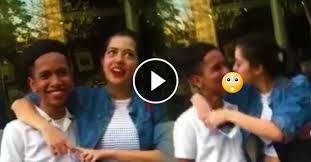 """Video pemuda ngarep """"french kiss"""" dari artis cantik ini jadi viral"""