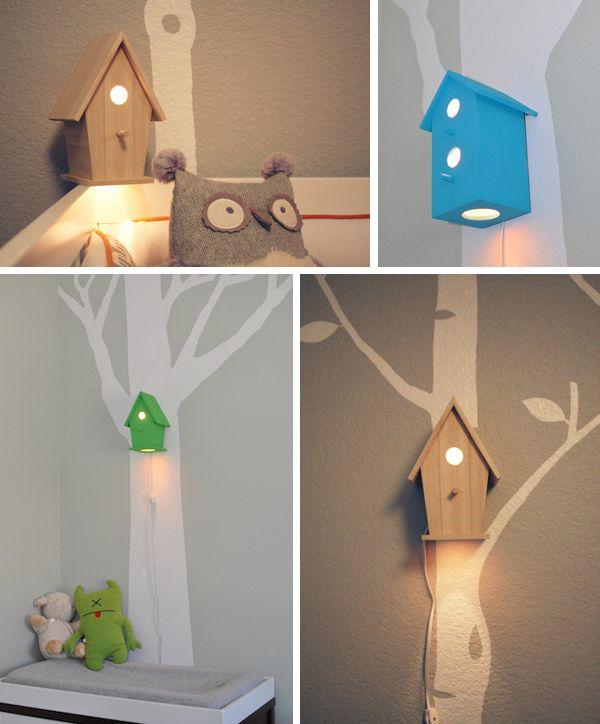 Сделать светильник в детскую комнату своими руками
