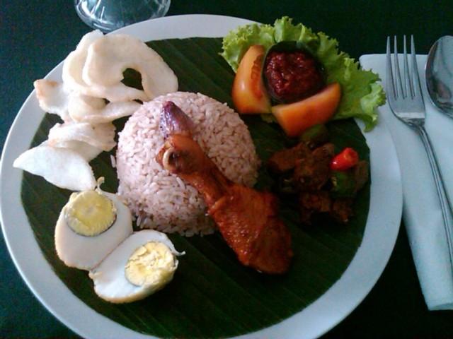Mencicipi nikmatnya sego blawong, makanan sakral kegemaran Raja Jogja