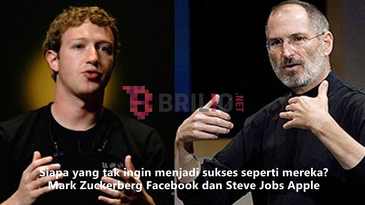 10 Hal yang bisa kamu pelajari dari pendiri Facebook dan Apple