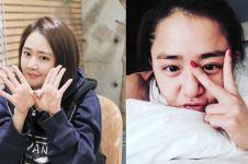 Reaksi mengejutkan artis Korea Moon Geun-young dihadiahi fans Indomie