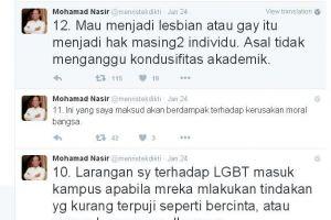 Tokoh-tokoh nasional pun ikut ramai membicarakan LGBT