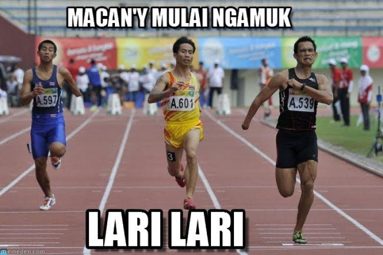 11 Meme di balik fenomena jogging yang pasti pernah kamu lakukan