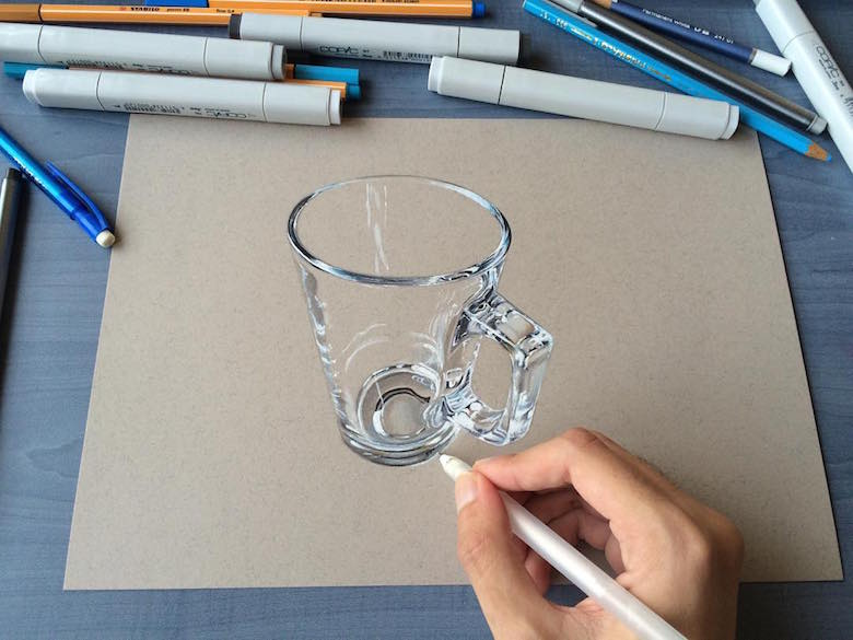 36 Seni gambar 3D karya bocah 19 tahun bikin kagum, nyaris sempurna!