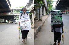 Ahmad jalan kaki Surabaya-Jakarta kampanyekan ISIS bukan bagian Islam