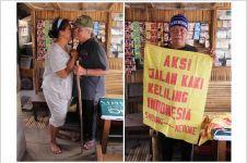 Tuntut keadilan, Indra Azwan jalan kaki keliling Indonesia