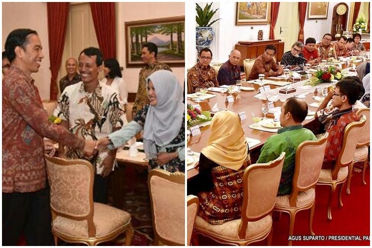 Aktif di media sosial, perempuan ini diundang Jokowi ke istana
