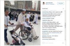 Foto Irfan Hakim ketika umroh bikin ribuan netizen nangis, kenapa ya?