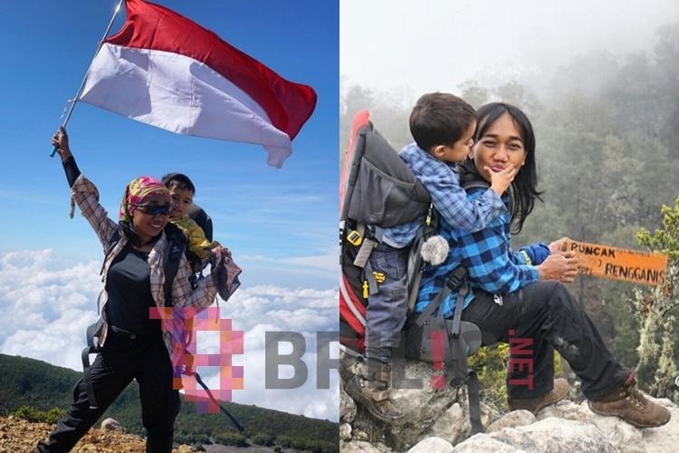 Kisah Mom and Max, ibu yang selalu ajak balitanya daki gunung, top!