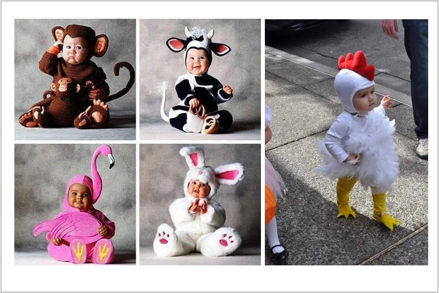 25 Foto imut bayi memakai kostum hewan, bikin pingin punya momongan