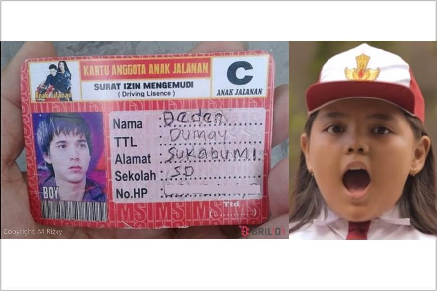 Ternyata sinetron Anak Jalanan ada kartu anggotanya, menurut kamu?