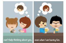 21 Ilustrasi yang menggambarkan arti cinta sesungguhnya, so sweet!