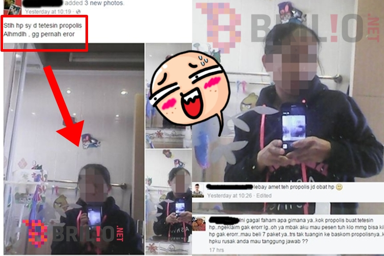 Perbaiki HP rusak pakai propolis, netizen ini bikin gagal paham, wah!