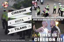 16 Meme sindir Cirebon Kota Tilang ini kocak banget bikin perut mules!