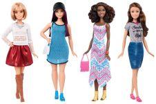 26 Desain terbaru Barbie, ada juga yang pesek dan keriting
