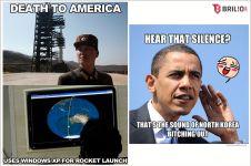 20 Meme lucu AS sindir Korea Utara, Kim Jong-Un nggak berwibawa lagi!