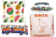Sayang anak, kenalkan Indonesia dengan 10 desain bantal lucu ini