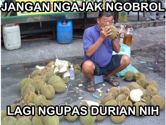 17 Meme durian yang membuat kamu mabuk, hati-hati!