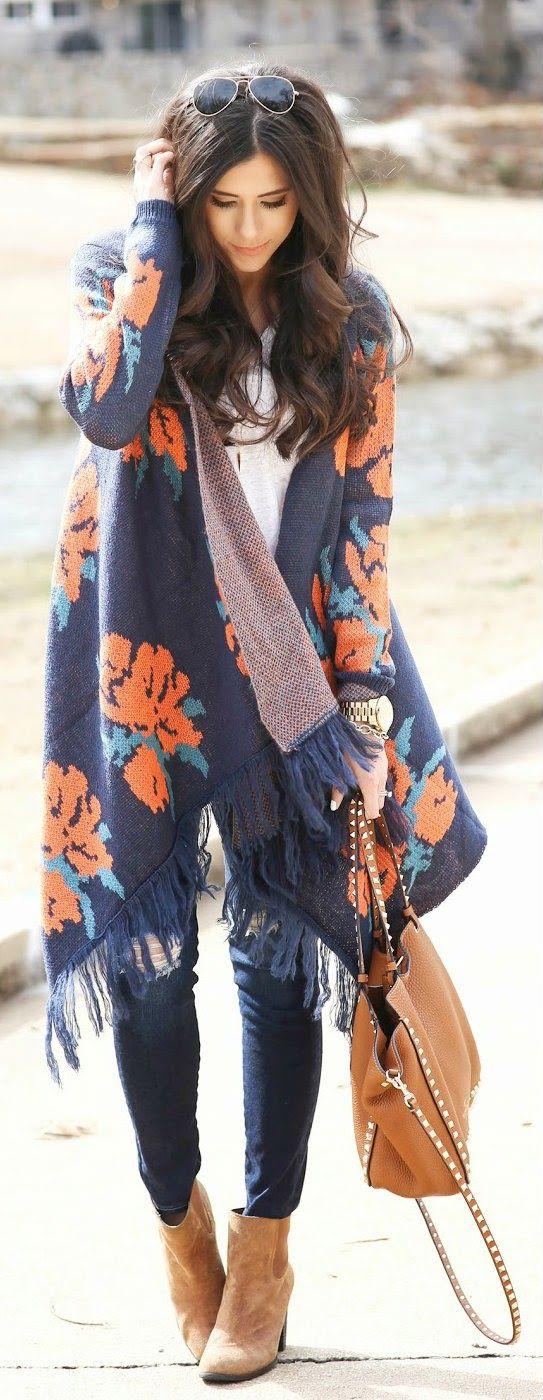 Inspirasi buatmu! 10 Outer rajut yang bikin kamu cantik & badan hangat