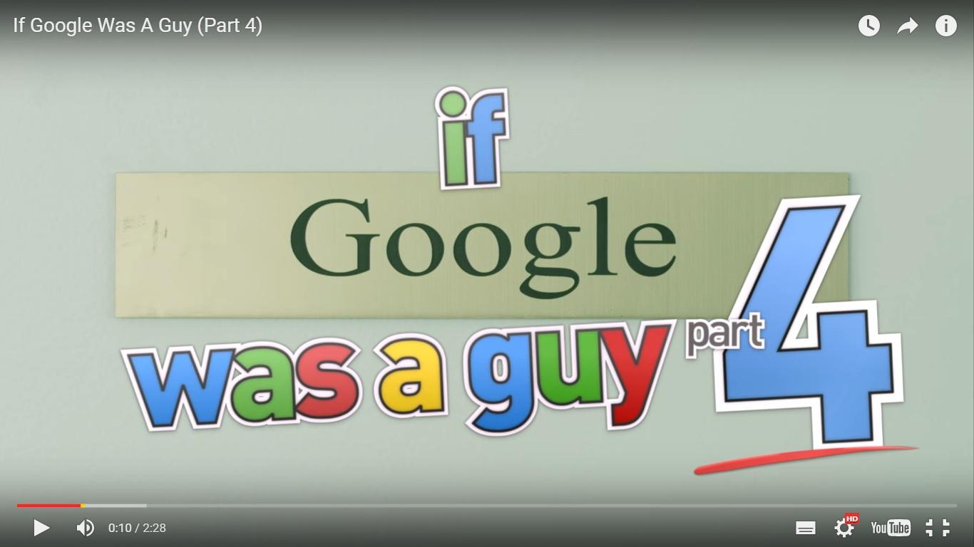 Andai Google itu manusia, coba bayangkan repotnya seperti apa