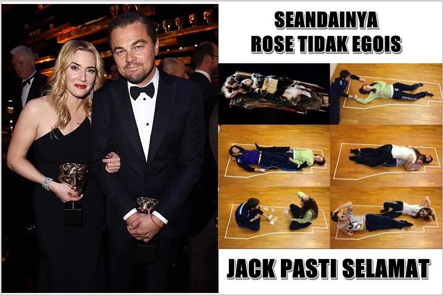 Kate Winslet akhirnya komentari meme Rose bunuh Jack di film Titanic
