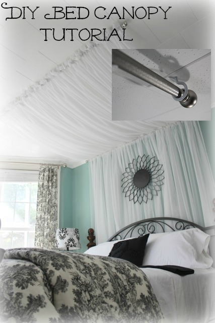 Make Drapes Out Of A Sheer Fabric To Add Dimension To A Small Room Awesome Ideas