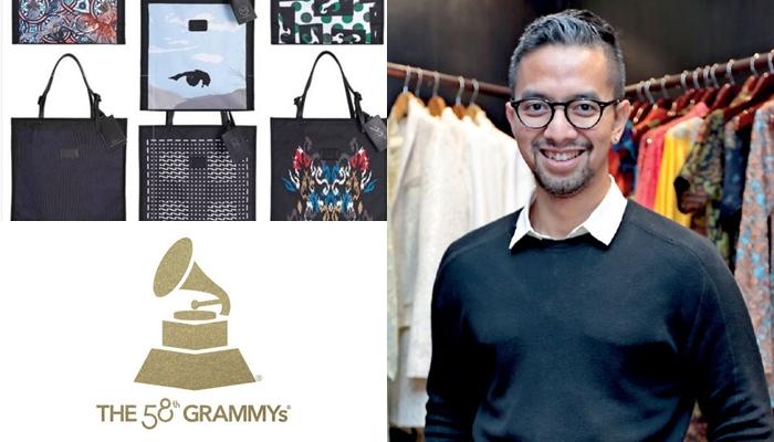 Wow, tas karya desainer Indonesia menjadi hadiah pemenang Grammy ke-58