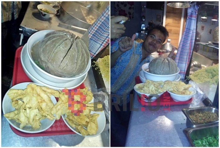 Bakso Klenger, kedai istimewa yang suguhkan bakso seberat 3 kilogram