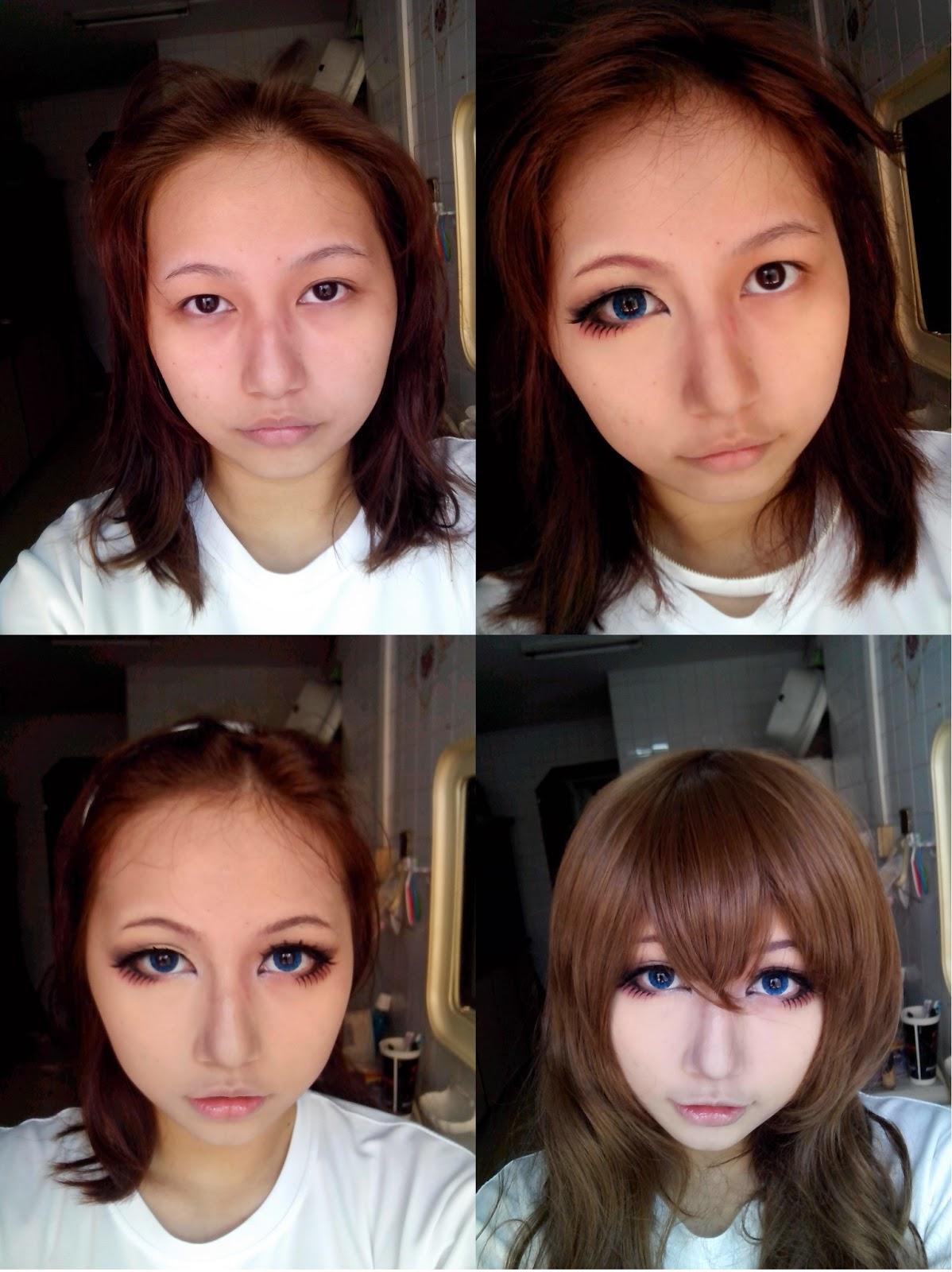 14 foto before dan after make up cosplay yang bikin kamu melongo