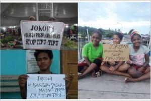 Mama-mama Papua protes Presiden Jokowi, ini tuntutan mereka?
