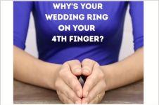 Ini alasan kenapa cincin kawin dipasang di jari manis, nggak nyangka!
