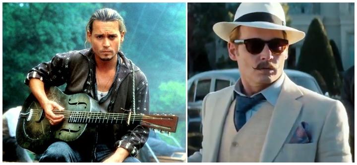 Menurut kamu Johnny Depp lebih keren jadi aktor atau anak band?