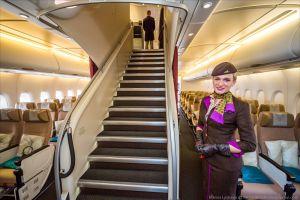 Inilah rasanya traveling dengan pesawat paling mewah di dunia