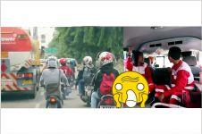 Rekaman ini buktikan pengendara Indonesia belum prioritaskan ambulans