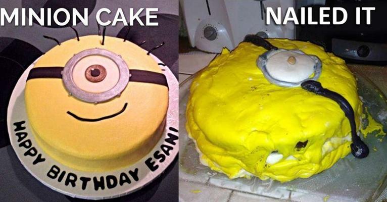 20 Kreasi masak kue ini gagal abis, dari seram hingga bikin ngakak!